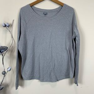 Aerie thermal waffle knit long sleeve top